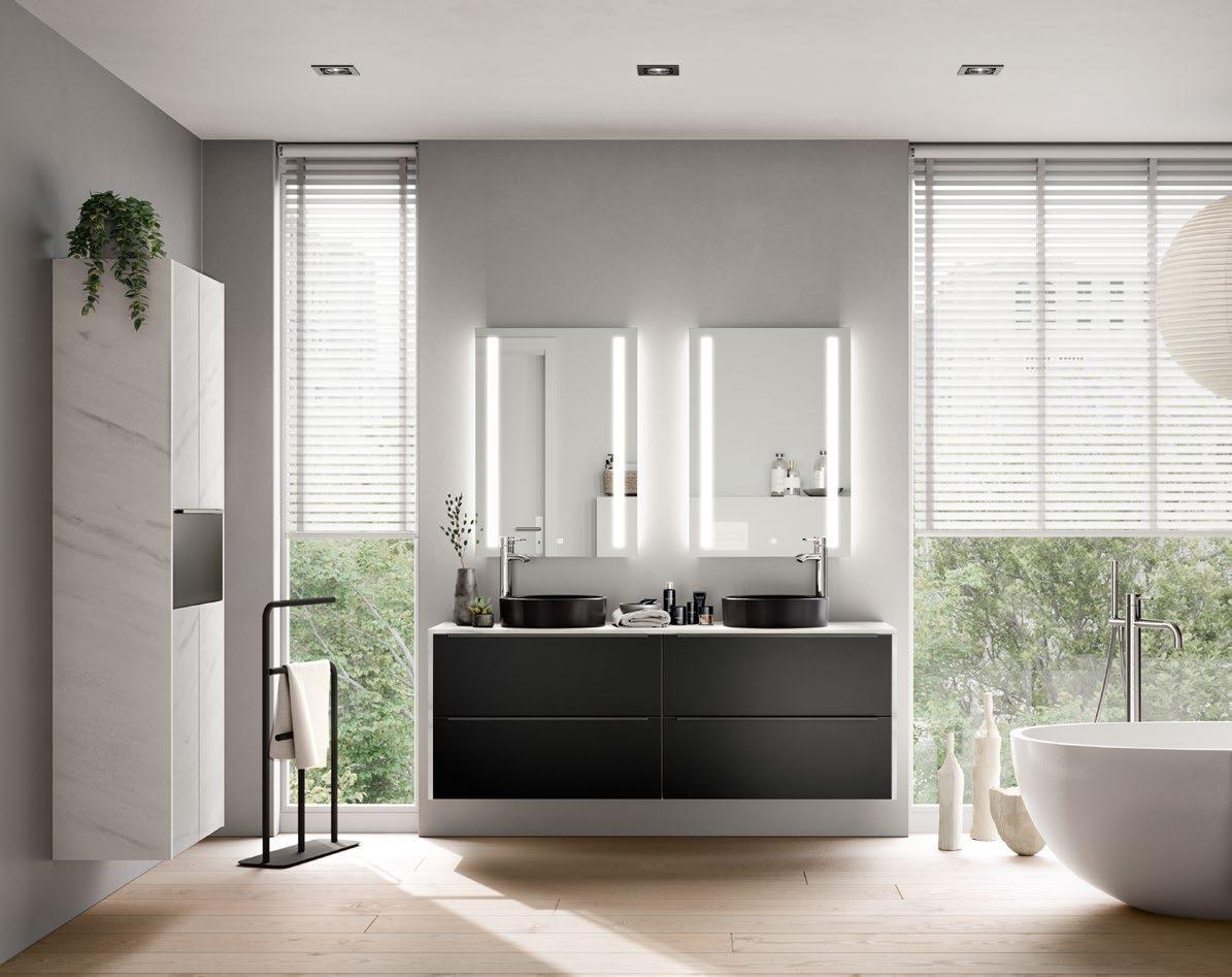 Tendance salle de bain 2020 espace cuisine suisse romande - Tendance couleur salle de bain 2020 ...